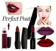 """""""Matte Lipstick"""" by peacefreak27 ❤ liked on Polyvore featuring beauty, MAC Cosmetics and Smashbox"""
