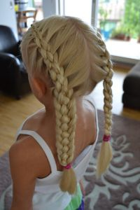 5 strand french braids