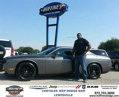 https://flic.kr/p/xwrV7p | #HappyAnniversary to Patrick and your 2010 #Dodge #Challenger from Everyone at Huffines Chrysler Jeep Dodge Ram Lewisville! | www.deliverymaxx.com/DealerReviews.aspx?DealerCode=XMLJ
