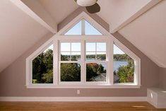 A Broad Gable House - Modern Loft Dormer, Dormer Bungalow, Shed Dormer, Bungalow Renovation, Attic Renovation, Attic Remodel, Dormer Windows, House Windows, Windows Office