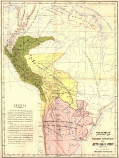mapa del alto peru en 1810 - Buscar con Google Vintage World Maps, Google, Maps, Texts