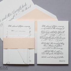 Eberle Invitations, Atlanta Georgia, Wedding Invitations