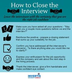 interview closing tips and techniques know how to close the job interview successfully and leave the right impression as the best job candidate