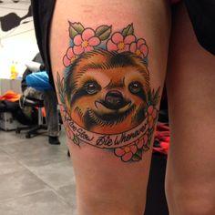 Sloth Neotraditional Newtraditional