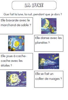 Texte de lecture : la lune                                                                                                                                                                                 Plus
