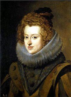 Velazquez, Diego (1599-1660) - 1630 Infanta Dona Maria, Queen of Hungary (Prado, Madrid)