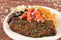 Cinco De Mayo Special: Carne Asada With Pico de Gallo, Spanish Rice, and…