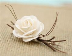 woodland Boutonniere   ... -nights-dream-themed-wedding-with-whimsical-woodland-etsy-finds