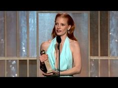 Best Actress - Motion Picture, Drama: Jessica Chastain - Golden Globe Awards