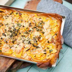 Bild på Filodegspizza med sötpotatis