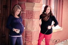 pregnancy photoshoot 2 friends - Google Search
