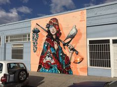 Street Art by Tristan Eaton & Esao Andrews in Los Angeles, USA