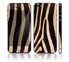 Apple iPhone 5 Decal Skin - Zebra Print #case #iPhone $11.99 http://www.itsrainingskin.com/Apple-iPhone-5-Decal-Skin--Zebra-Print_p_70700.html