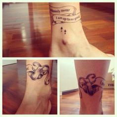 Harry Potter Tattoo | Original Dragão Tattoo Studio - BH]] awesome! just awesome! i wouldnt get it myself but thats great