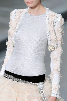Chanel at Paris Fashion Week Spring 2009. Source: ImaxTree. #Fashion