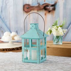 50PCS DIY Confetti Petal Cones Holders with Double-Sided Tape for Wedding Baptism Christmas Birthday First Communion Wavy Lace Blue