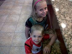 Anne and Quinten. Two more of my Grandchildren. :) Two of Six.