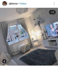 Living Room Decor Cozy, Living Room Grey, Home Living Room, Living Room Designs, Home Bedroom, Bedroom Decor, Living Room Inspiration, Future, Home Organization