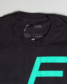 Visual identity and t-shirt for concert hall Fosnavaag Cultural Centre designed by Heydays