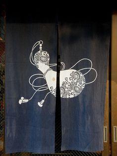 #6179 door curtain (暖簾)