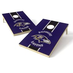 Wild Sports NFL Tailgate Toss Game Set, Ravens, White