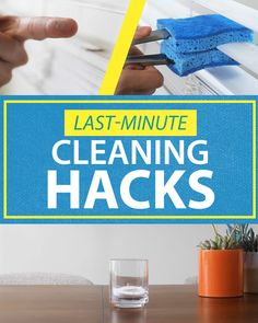 Last-Minute Cleaning Hacks  Out of standard cleaning solutions? Try out these quick and easy spring cleaning hacks with Scotch-Brite™ Brand!