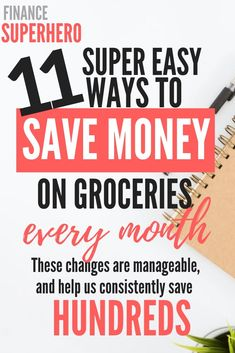 Are you pulling your hair out over rising grocery costs? In this post, we're sharing 11 ways we have cut our grocery bill nearly in half without reducing the quality of our diet or spending hours couponing. If you're looking to save mon