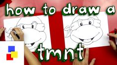 How To Draw A Teenage Mutant Ninja Turtle Face for fun things to do with your son