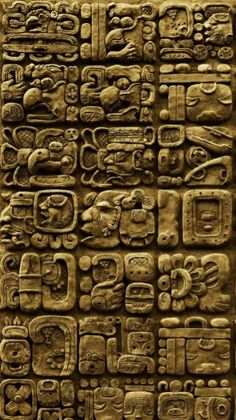 Aztec Pictures, Stone Carving Tools, Mayan Glyphs, Maya Design, Africa Tribes, Maya Civilization, Buddha Sculpture, Mesoamerican, Ancient Beauty