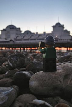 Legography by Andrew Whyte.Seaside Sunset
