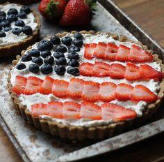 Berry Tart with Brown Butter Shortbread Crust Recipe - RecipeChart.com