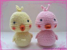 Crochet Baby Duck free pattern