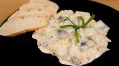 Jako speciálo budeme mít jednoduchý domácí rybí salát.