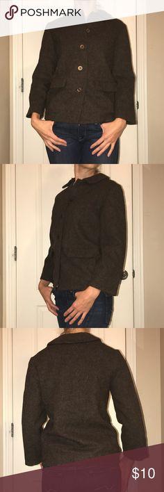 Vintage retro wool blazer M Gently worn, great condition. Super cute retro wool jacket. Vintage Jackets & Coats Blazers