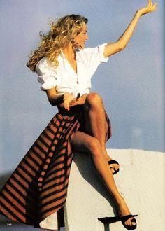 Elaine Irwin by Marc Hispard, 1991