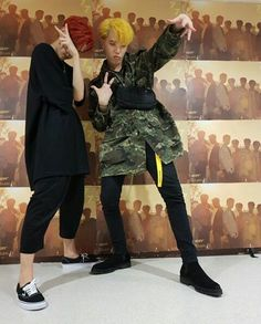 Mark Tuan y Yugyeom ✌