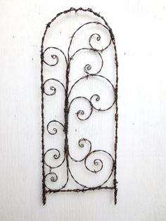 Treillis de fil de fer barbelé hérissée de par thedustyraven                                                                                                                                                                                 Plus