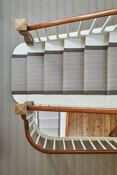 Designers and Makers of unique stripe runners, rugs and fabrics in natural fibres. Simply Luxury for Modern Living Hallway Inspiration, Modern Victorian, Scale Design, Hallway Decorating, Decorating Ideas, Wall Carpet, Grand Entrance, Herringbone Pattern, Otters