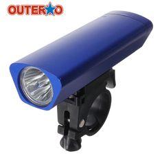Hot Sale Aluminum Alloy Bicycle Bright Waterproof Night Cycling 3W LED Front Head Light Bike Handlebar Lamp Tube Flashlight #Affiliate