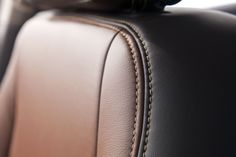 Hand-stitched #leather seating in the #Buick #Encore. #DetailsDetails