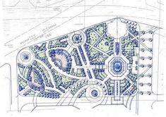 Architecture Concept Diagram, Landscape Architecture Drawing, Landscape Design Plans, Facade Architecture, Urban Design Concept, Urban Design Plan, Plan Maestro, Plaza Design, Public Space Design