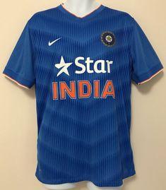 f7fd9f06749 Star India Nike Dri Fit Men S Cricket Jersey Shirt Blue Size Xl Extra Large