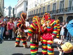Desfile Máscara Ibérica - Lisboa 2014 Caretos - Macedo de Cavaleiros