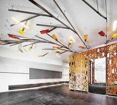 ceiling element_laser cut wall