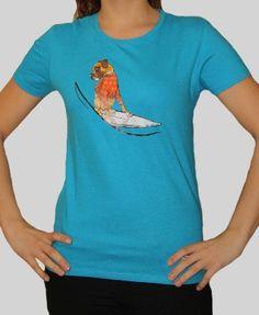 Champalao modelo mujer. Naya surf azul.