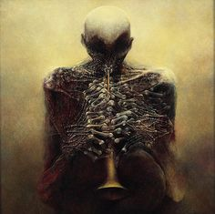 Zdzisław Beksiński | The Bridge of Nightmares