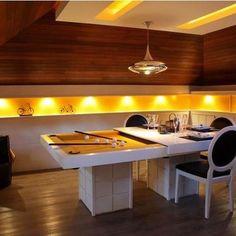 Mesa de jantar sinuca
