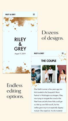 235 Best Wedding Website Design, Ideas & Templates images in