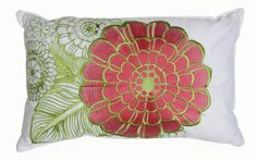 Flower Lumbar Pillow