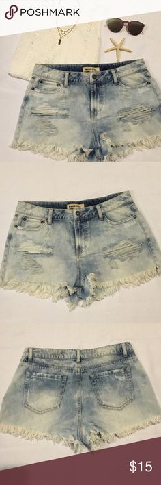High waisted distressed jean shorts High waisted distressed jean shorts Shorts Jean Shorts